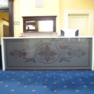 University of Auckland reception desk