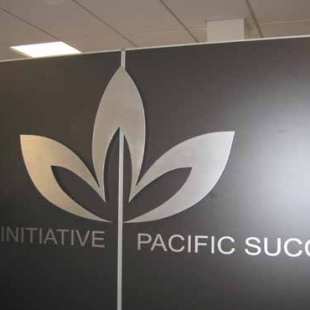 pacific business trust sign large